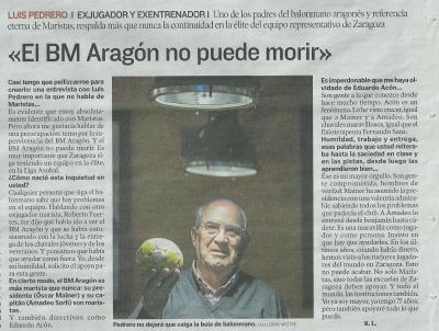 Por el Balonmano Aragón.